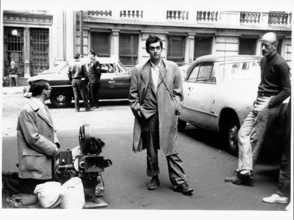 a morte passou perto - stanley kubrick durante as filmagens.arquivo stanley kubrick da university of the arts london.foto alexander singer