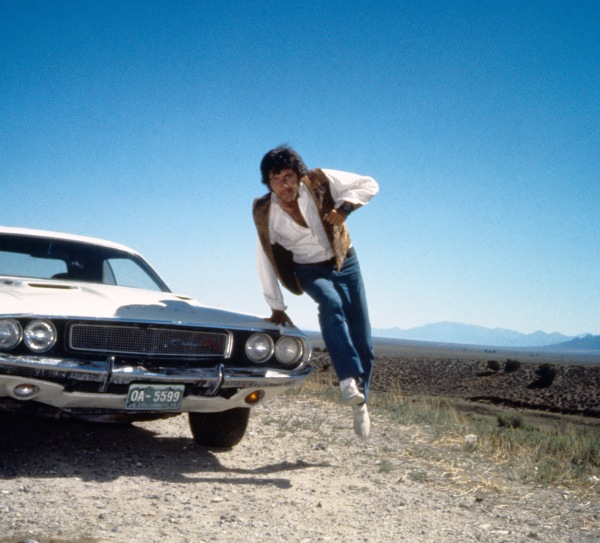 Vanishing Point (1971) Directed by Richard C. Sarafian Shown: Barry Newman