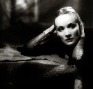 marlene dietrich 1932 - shangai express - by don english